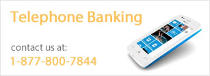 Telephone Banking Ad